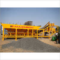 Maxmech Mp-20 Skid Mounted Batching Plant, Capacity 20 M3  Hr