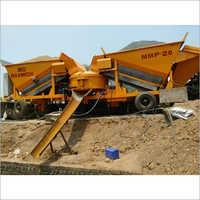 Maxmech MMP-20 Mobile Concrete Batching Plant, Capacity 20 m3  hr