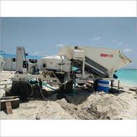 Maxmech MMP Series Mobile Concrete Batching