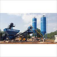 Maxmech MAX-60 Compact Concrete Batching Plant, Capacity 60 m3  hr, Max Series