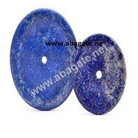 Lapis Lazuli Agate Donuts