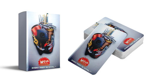 Advertisement Playing Cards