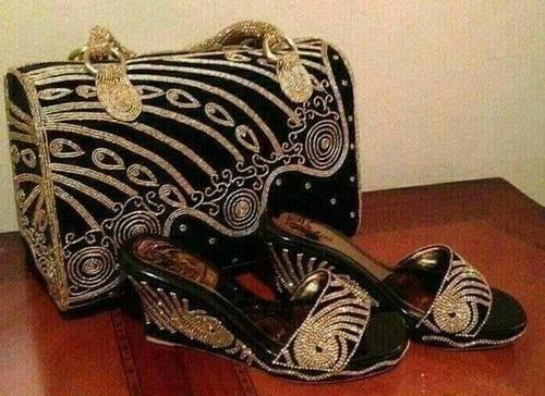 Black or Golden Handbag $ shoes