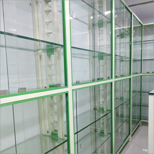 Medical Racks with Glass