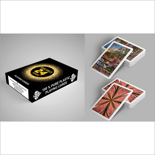 Smooth Finish Plastic Playing Cards