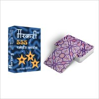 Paper Multicolor Playing Cards