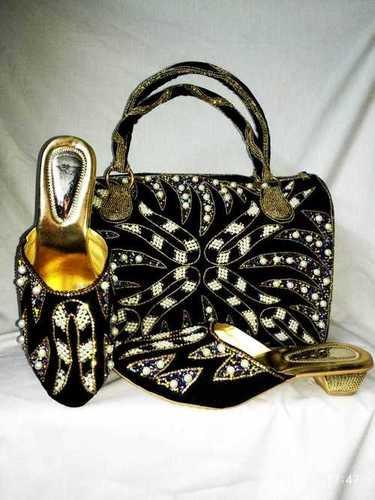 Ladies Shoes & Hands Purse
