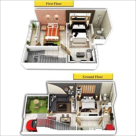 3d View House Plans