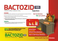 Ceftazidime 1000 mg & Tazobactam 125 mg