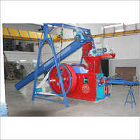 white Coal Briquetting Plant Machinery