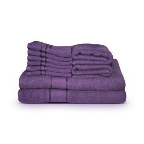 Purple Hotel Towels