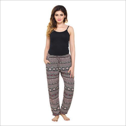 Ladies Rayon Bottom Pajama