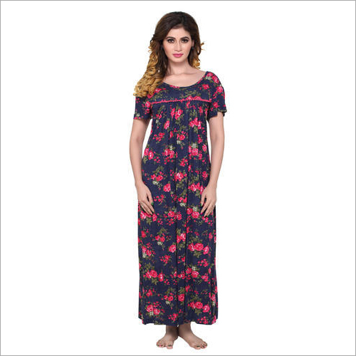 Ladies Printed Nightgown