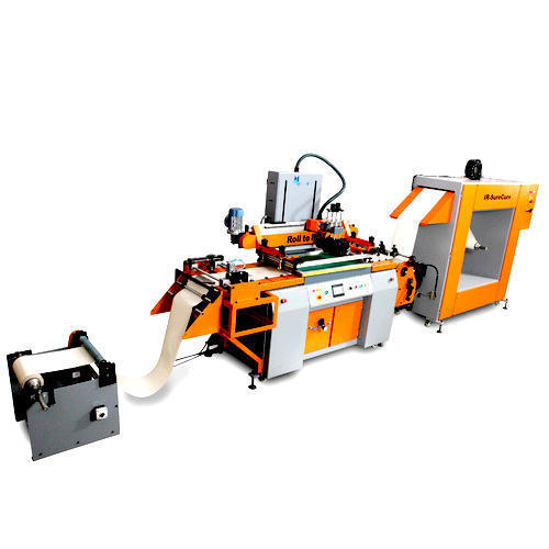 Roll To Roll Printing Machine With Ir