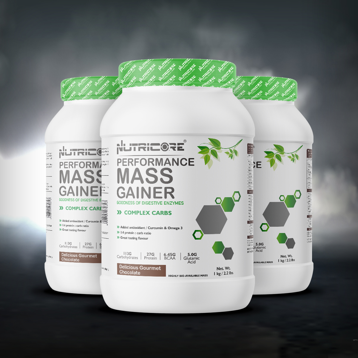 Muscle Mass Gainer (Delicious Gourmet Chocolate) 1 Kg