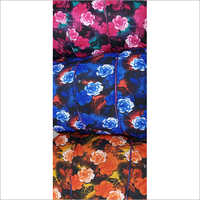 Floral Print Lycra Fabric