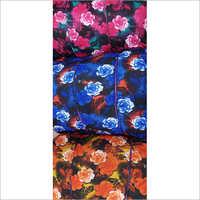 Floral Print Lycra Fabric