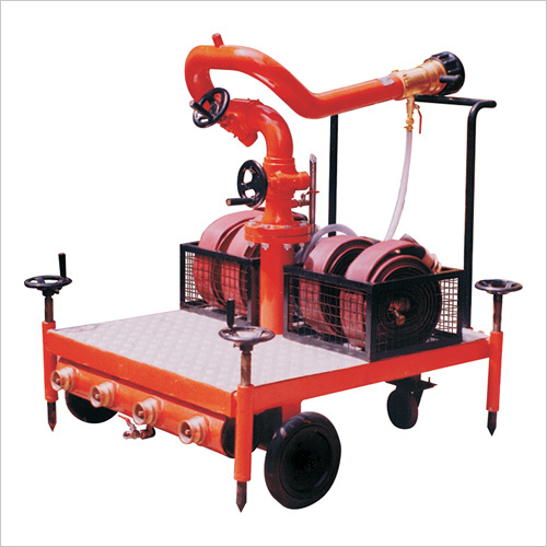 Trolley With Monitor, Carbon Steel