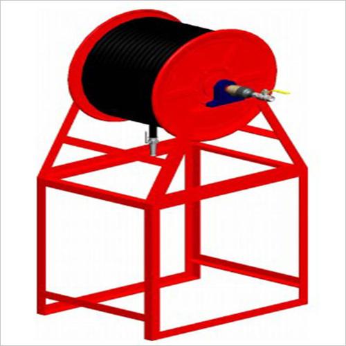 Hose Reel, Horizontal Type, Carbon Steel