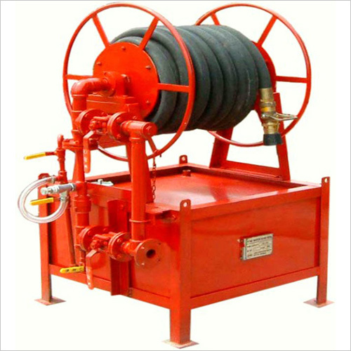 Foam Hose Reel with Tank, Stainless Steel