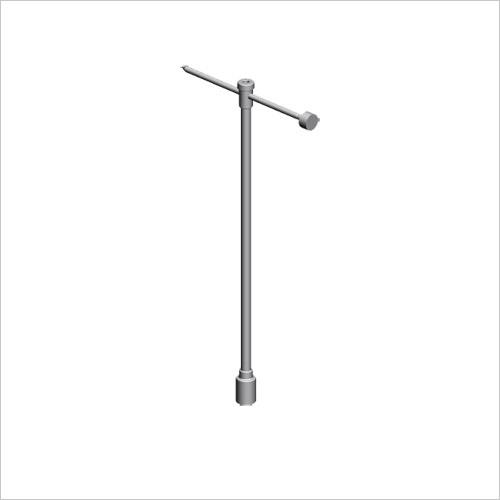 Hydrant Key with Bar, Aluminium