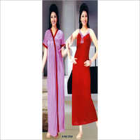 2 Piece Long Night Dress