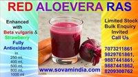 Red Alovera juice