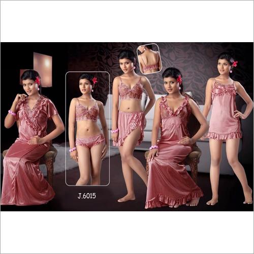 5 Piece Night Dress
