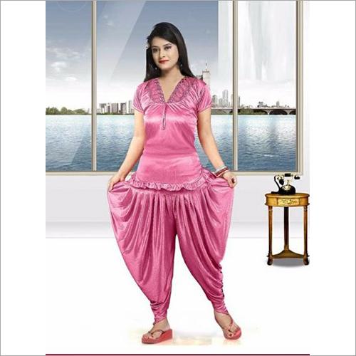 Top With Dhoti Salwar Night Dress