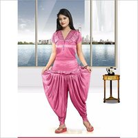 Top With Dhoti Salwar Night Dress