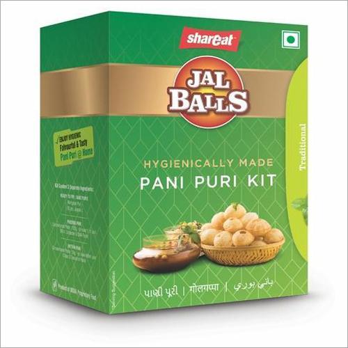 Ready to Fry Pani Puri Kit
