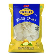 Wavy Chips Potato Pellets