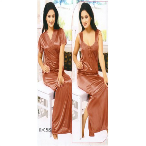 Ladies Fancy 2 Piece Night Dress