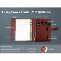 5000 mAh Diary Power Bank
