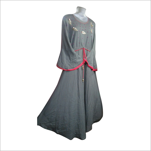 Indo Western Rayon Gown