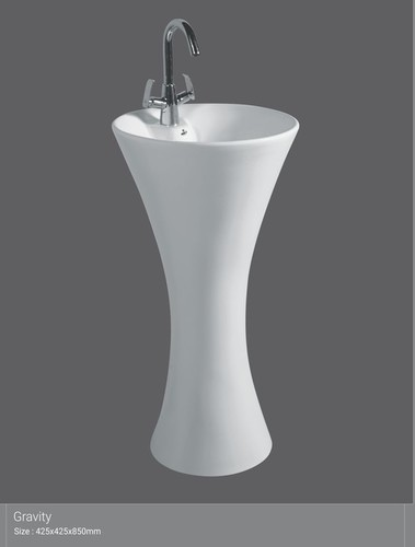 big ceramic wash basin