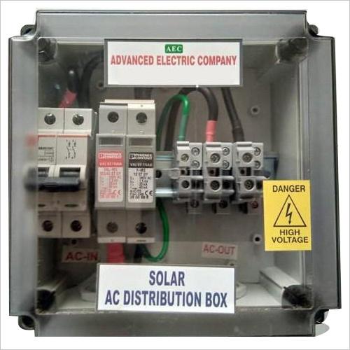 Solar ACDB 1-5 KW Single Phase With SPD