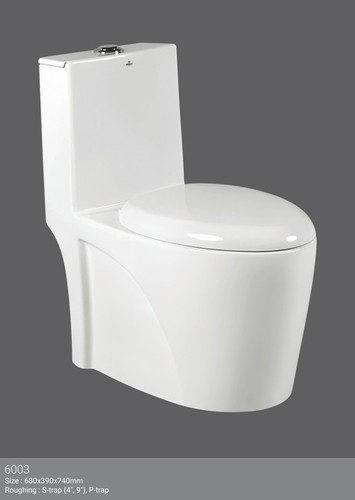Slim One Piece Water Closet