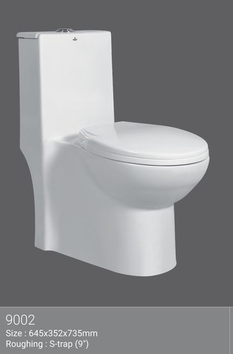 4D One Piece Water Closet