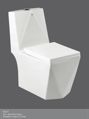 Designer One Piece Water Closet