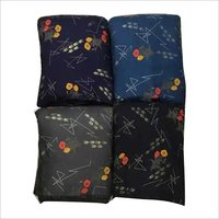 Rayon Discharge Foil Print Fabric