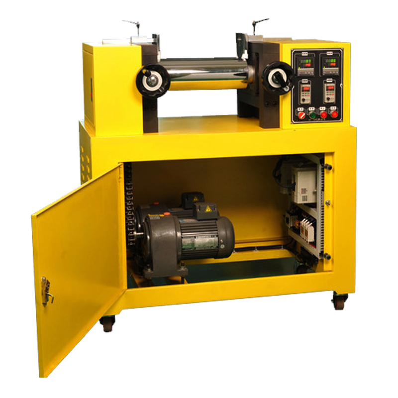Dual Roll Type Rubber Mixing Mill Machine