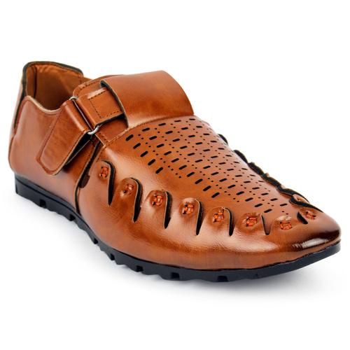 Mens Black Roman Sandals