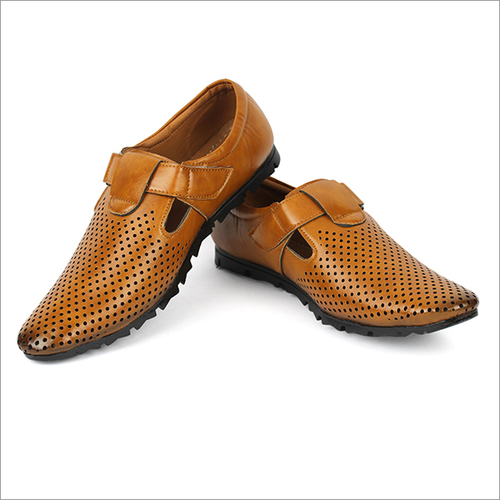 Mens Synthetic Leather Roman Sandals
