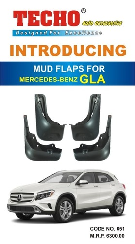 MUD FLAPS FOR MERCEDES-BENZ GLA
