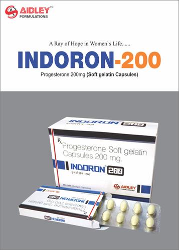 Natural Progesterone 200mg (Softgel Capsules)