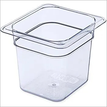 GN Pan PC 1/6 x 65, 100, 150, 200 mm Cambro