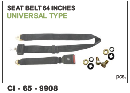 Seat belt 64 inch for Trucks, Buses Universal