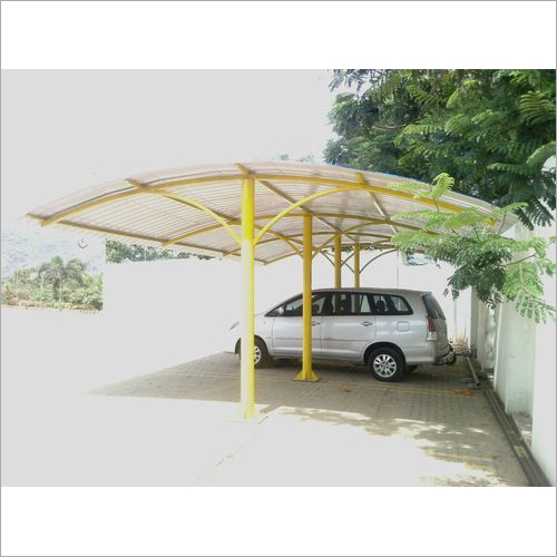 Parking Roof Shed Structure