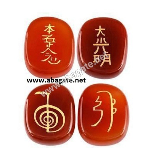 Red Carnelian Usui Reiki Set